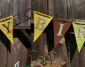 Monkey Party Banner, Jungle Party, Zoo Party, Safari, Vintage, Rustic, Sock Monkey Party, Camping Party, A to Zebra Celebrations