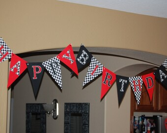 CARS Party Banner, Hot Wheels, Race Cars, Sports Party, Monster Truck, Train Party, A to Zebra Celebrations