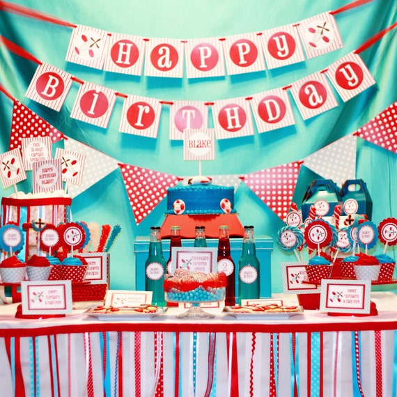 Airplane Party, Cat in the Hat, Christmas Party, Circus Party, Carnival Party, Vintage, Desserts Table, Ribbon, Boy Parties, Cars Party