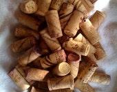 50 Wine Corks -- real cork