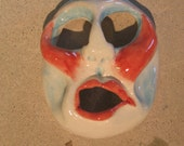 Small Porcelain Loudmouth Mask