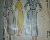 Uncut Vintage 1950s Dress Pattern - McCall 8113 - 36 Bust