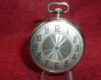 1918 Lady Waltham 16 Jewels 0s Pocket Watch-With Oversize Dial