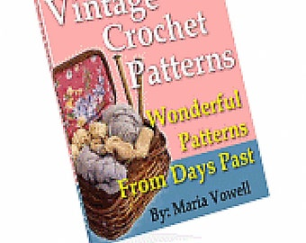 Vintage Crochet Patterns eBook\/PDF file