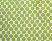 Lime Full Moon Dots Fabric Lotus Amy Butler Westminster by the Yard