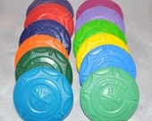 Fireman Badge Shaped Recycled Crayons, Set of 12.  Boy or Girl Kids Unique Party Favors, Crayons.