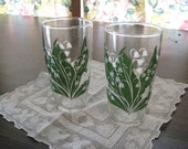 Lily of the Valley Drinking Glasses