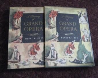 A 1940's Music Score Opera Collection