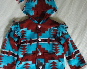 Child Capote Jacket - Cody