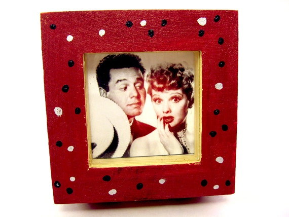 I Love Lucy Red Polka Dot Jewelry Box