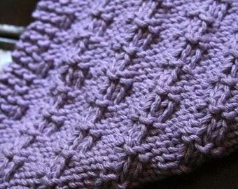 KNITTING PATTERN-Bella, Dishcloth Pattern