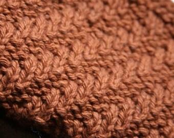 KNITTING PATTERN-Jaywalking East, Dishcloth Pattern