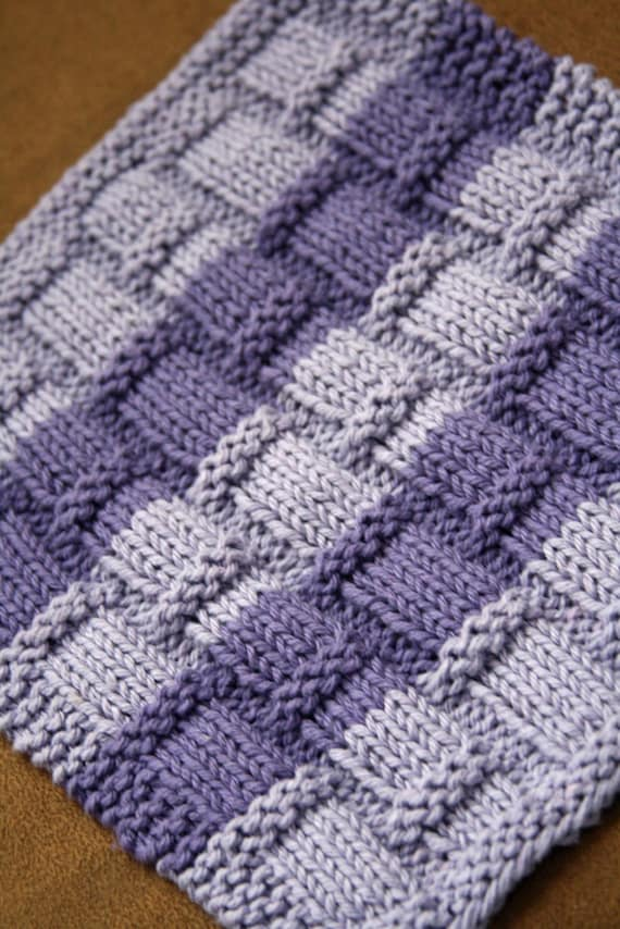 How To Knit Dishcloths Free Patterns : Unavailable Listing on Etsy