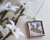 Gratitude Bird necklace