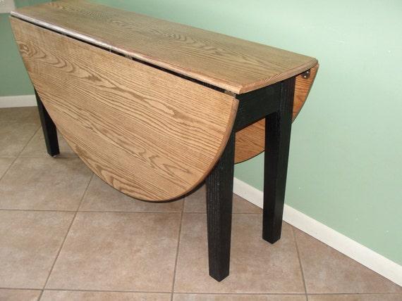 5 foot Solid hardwood gate leg dining table