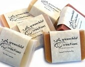 SALE Natural Soap, Set of 3 - YOUR CHOICE of Scents, cold process soap