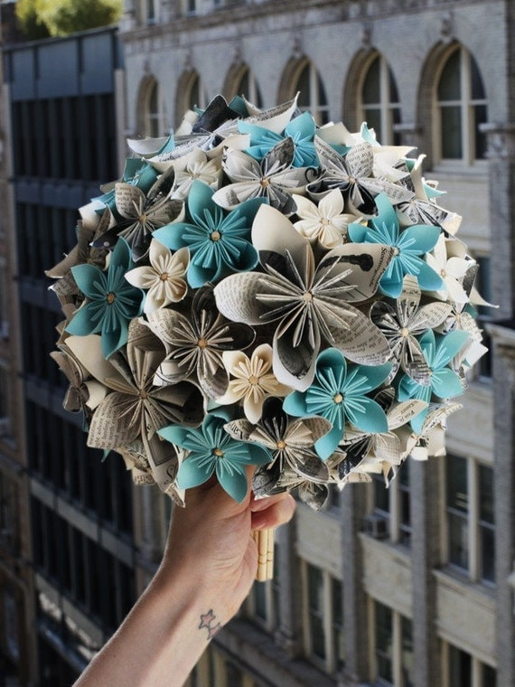 The Breakfast at Tiffany's Paper Bouquet