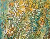 If I Find My Way, How Much Will I Find 11 x 14 fine art giclee print  secret garden