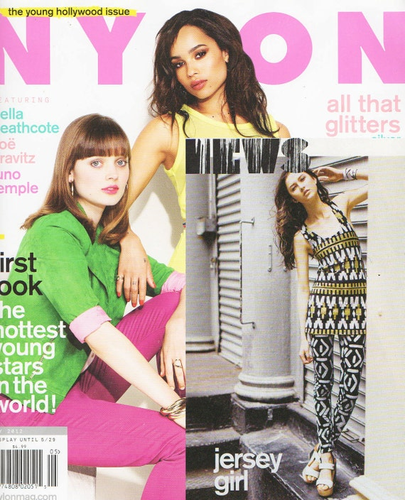 Featured in May 2012 Issue of Nylon Racerback Tank Mini Dress in Organic Soy Blend Jersey