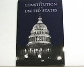 Constitution of the United States Booklet school classroom learning united states america washington