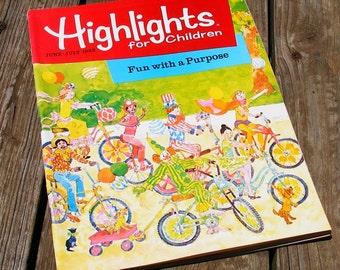 Vintage Highlights Magazine June July 1983