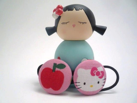 Hello Kitty Country Living Ponytail Holders