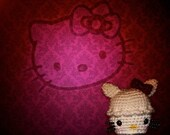 hello kitty cupcake RESERVED for Lycheekiss