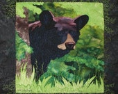 Backdoor Bear Toni Whitney Animal Fusible Applique Quilt Pattern