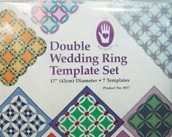 Marti Michell Mitchell Double Wedding Ring Template Set