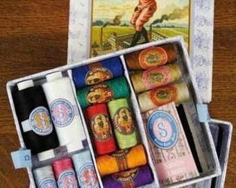 Sajou Small Thread Sewing Gift Box Fil Au Conscrit Needles