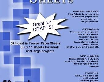 """C. Jenkins100 Industrial Freezer Paper Sheets 8.5 x 11"""""""