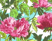 1 yard - Twilight Peony in Amaranth - Soul Blossom by Amy Butler - Amy Butler Fabric