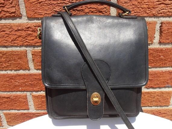 Vintage COACH Convertible Crossbody SLIM MESSENGER Flap Purse Bag