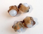 Vintage Made in Japan Never Used Opalescent Glass Beads 4