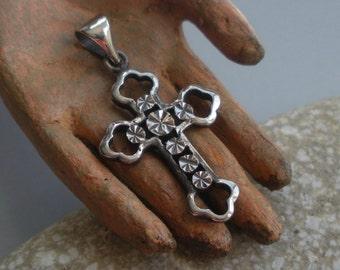 Sterling Cross Pendant European