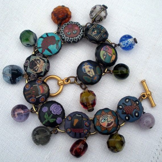Findings to Make Your Very Own Fabulous Polymer Clay Charm Bracelet