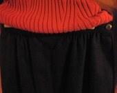 CLOTHING SALE IN PROGRESS - Black Pendleton Wool Skirt Size 8