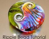 Ripple Bead Tutorial - Lampwork Bead Instructions