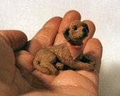 dollhouse mini miniature dog pet 1:12 scale