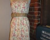 Rosebud print Floral Dress VR4036