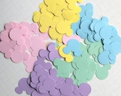 RESERVED for Rachel: Mickey Mouse Confetti in Yellow Pink Blue 150 pieces