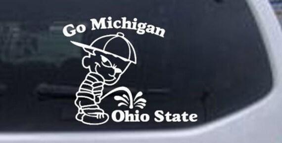 Michigan pissing on ohio state websites - ebaycom