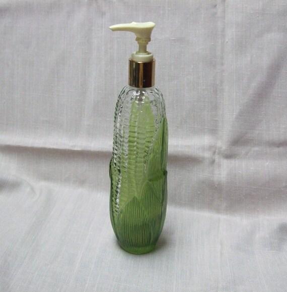 Bountiful Harvest Corn Ear Avon Decanter, Hand Soap or Lotion Dispenser