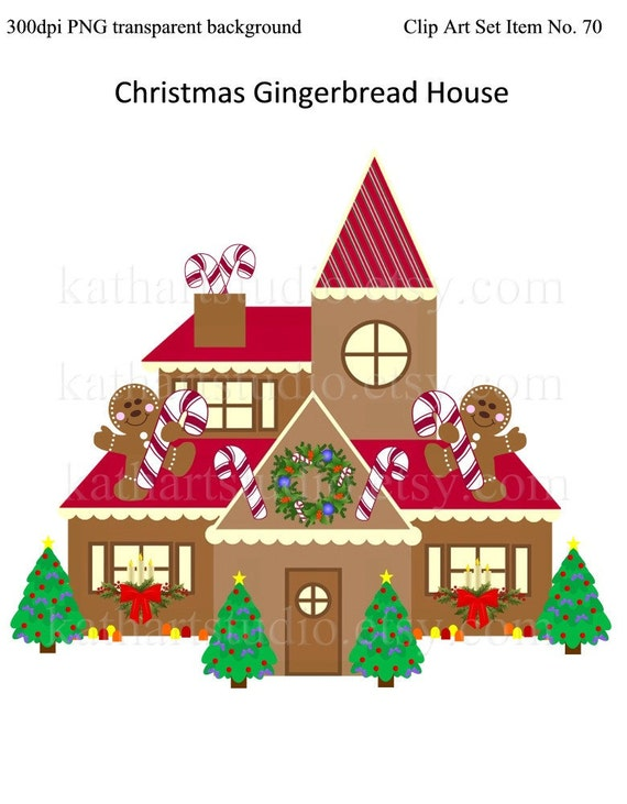 free gingerbread house clipart - photo #39