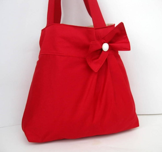 New-Red Bag-Double Straps