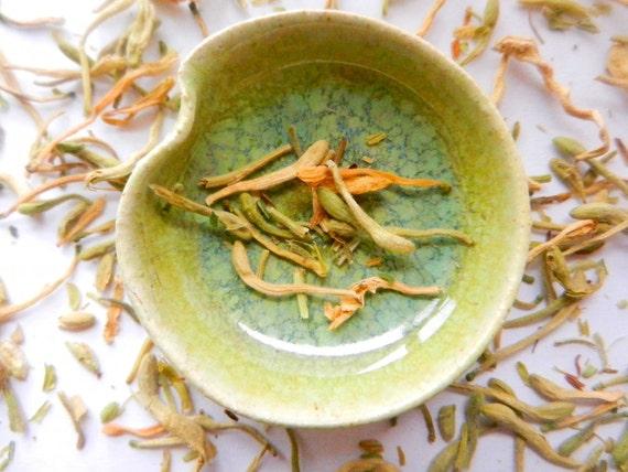organic delicious handpicked honeysuckle flowers