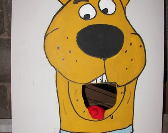Scobby  doo    New  Style  Corn hole  game   with 6 bean bags