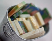 Set of 5 Sample Soaps, Guest Sized Soaps