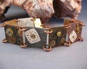 It's About Time, Bracelet, Watch Parts, Copper