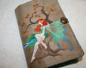 Fairy Embroidered Book Cover